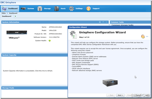 Install and configure the VNXe3200 | BilligPC dk